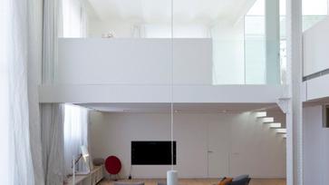 Egy tágas loft lakás Barcelonában