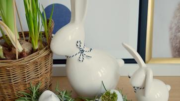 Friss rozmaringtól illatozó, húsvéti tojástartó kosárkák