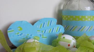Ripsz-ropsz húsvéti dekoráció