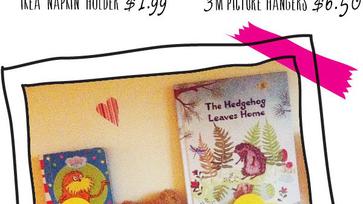IKEA Hack: RYMLING Szalvétatartó, mint könyvtartó