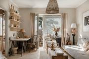 Skandináv otthon, ahol a természetes anyagok dominálnak