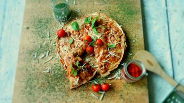 20 perces babos tortilla-torony