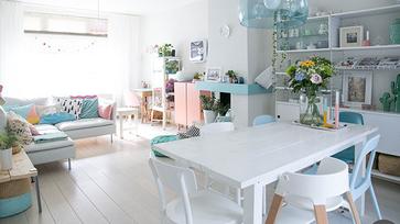 Skandináv stílus vidáman és játékosan egy blogger otthonában