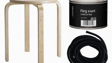 IKEA hack ötletek: ülőkéből hinta