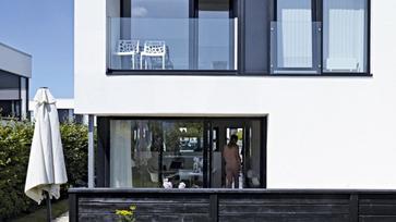 Karakteres újépítésű otthon Dániából