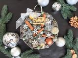 Csináld magad karácsonyi kopogtató az ajtóra