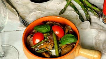 A spárga és a Gorgonzola tökéletes összhangja
