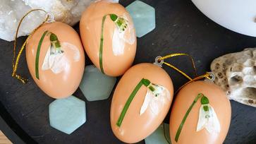 Hóvirágos tojások