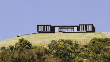 Konténerház Új-Zélandon