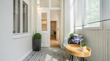 Egy budapesti kiadó lakás, amely elsősorban diákok részére újult meg