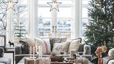 Egy igazán romantikus, vidéki stílusú otthon Svédországban