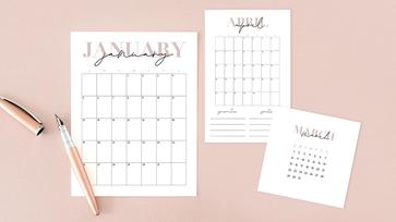 21 ingyenesen letölthető 2021-es naptár a szuper évkezdéshez