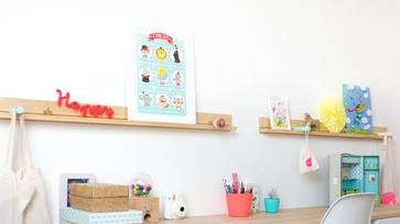 IKEA hack ötletek: Stuva fiókból íróasztal