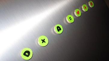 Játékos számtan hűtőmágnessel - Csináld magad!