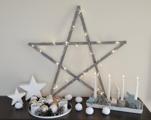 Óriás csillag karácsonyra – Csináld magad!