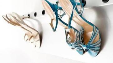 Ötletes cipőtárolás cipőmániásoknak