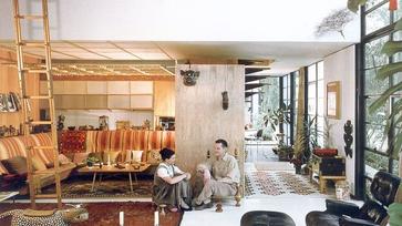 Eames ház: egy ikonikus tervezőpáros ikonikus otthona