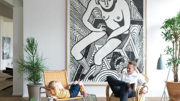 A Ferm Living tervezőjének különleges otthona