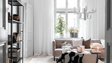 Egy csajos, kis méretű lakás Svédországban
