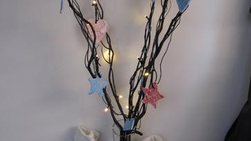 Karácsonyi világító ágacskák