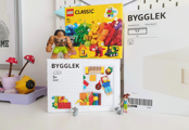 A játék és a rendrakás a főszereplő az IKEA és a LEGO közös kollekciójában