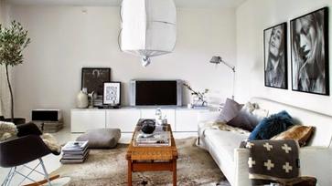 Egy svéd stylist otthona