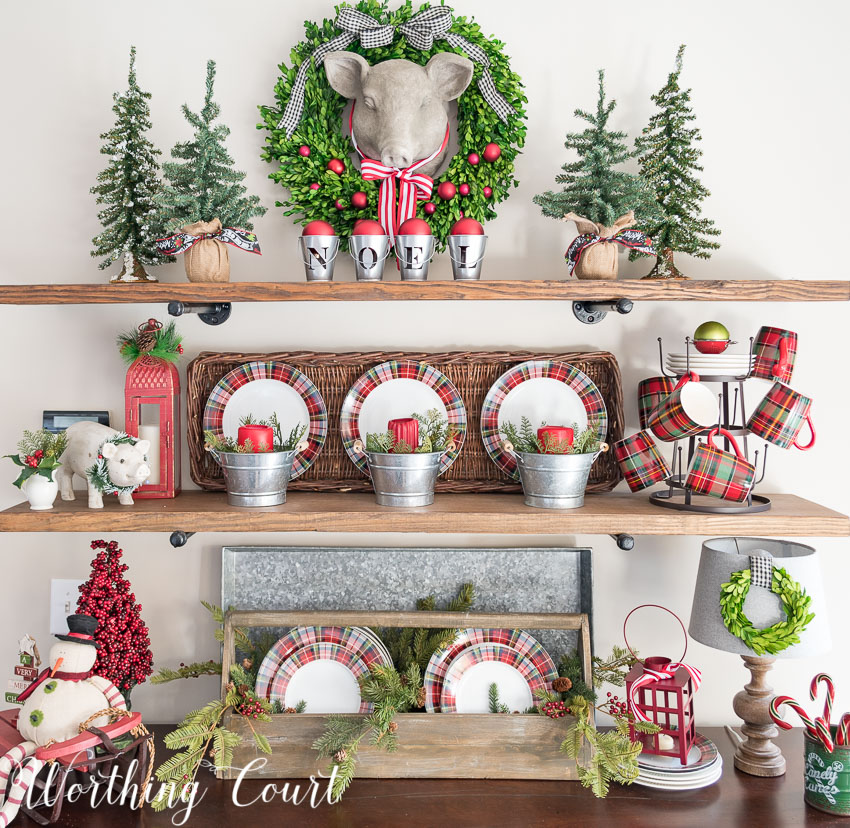 christmas-shelves-decorated-with-plaid-plates.jpg