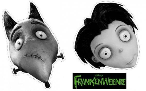 Frankenweenie-Masks