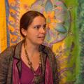 Alexandra selyemfestmény-kiállítása