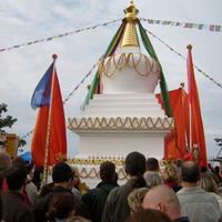Lama Ole sztúpát avatott Becskén