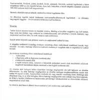 Legeltetési tilalom és ebzárlat elrendelése