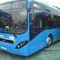 Fóliával védik Budapest új buszait