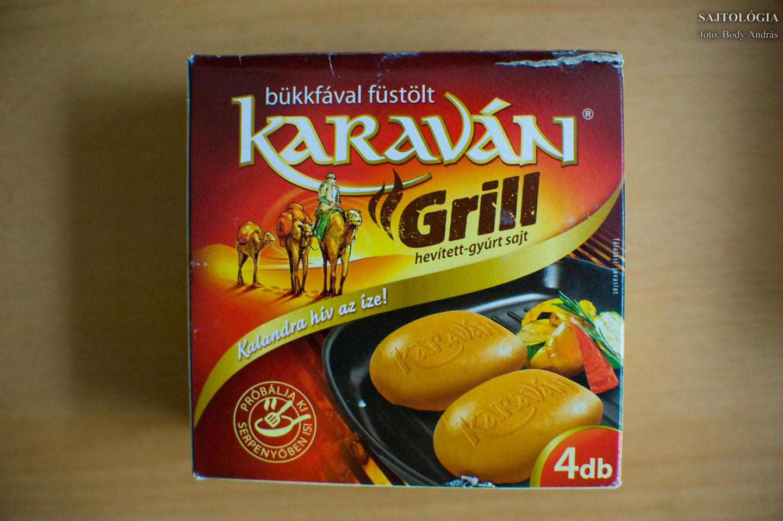 Karaván grill: pont olyan, mint egy sima karaván, csak ehetjük melegen is.