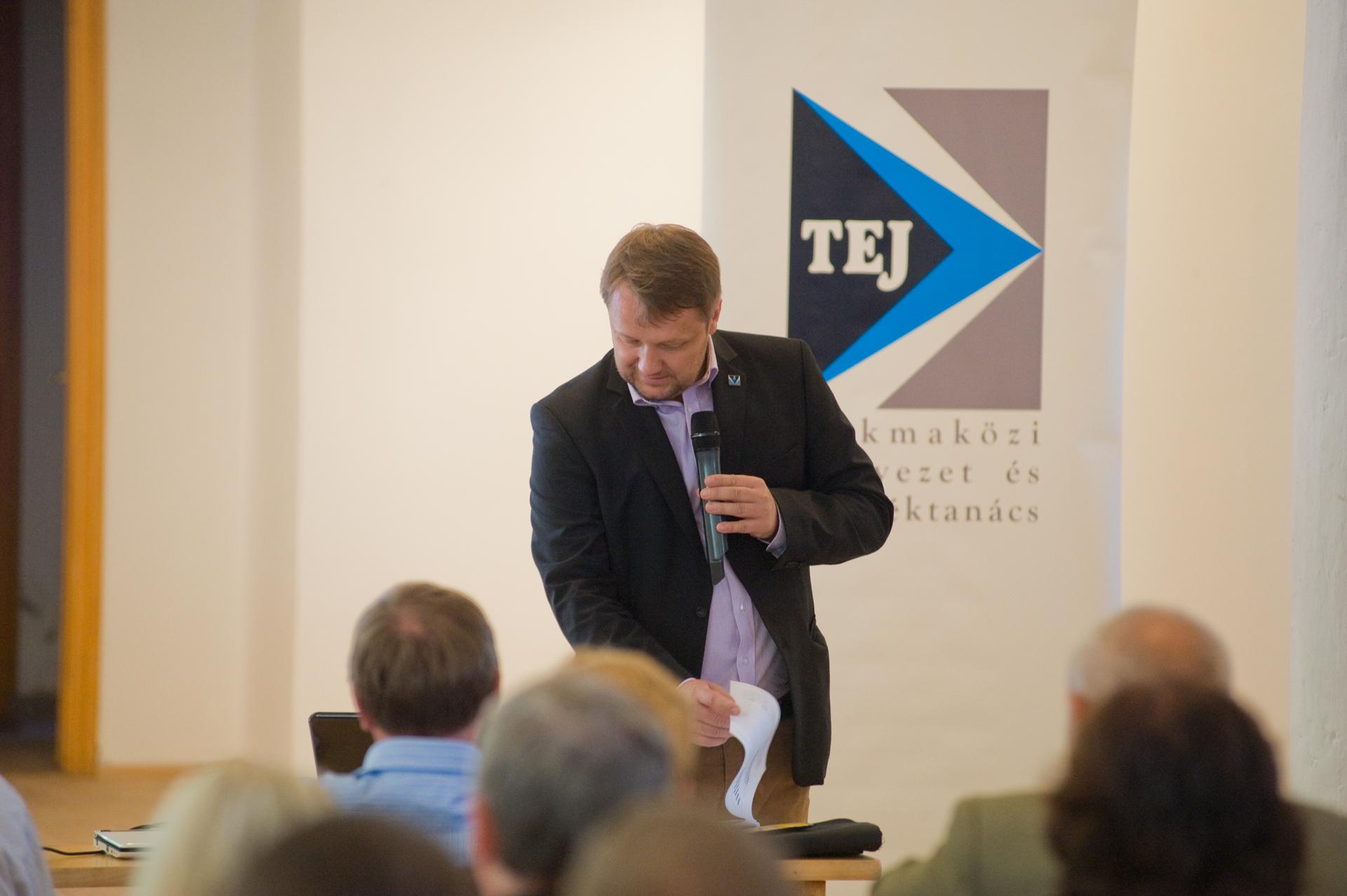 Harcz Zoltán (Tej Szakmaközi Szervezet és Terméktanács) előadása a tejágazat jelenlegi helyzetéről  - Beszámoló a blogon hamarosan!