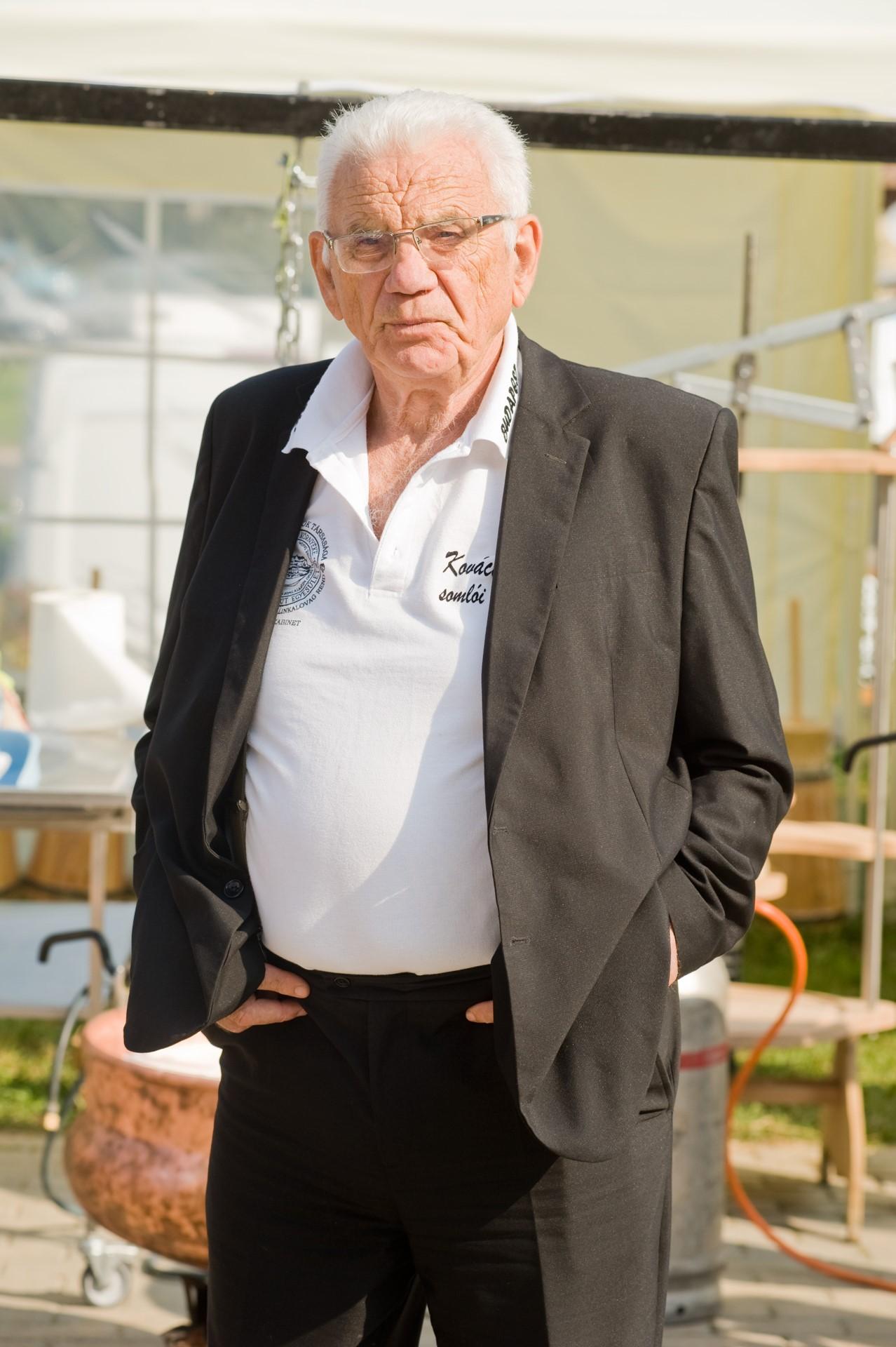 Kovács László, a KKASE- Sajtkészítők Egyesületének elnöke