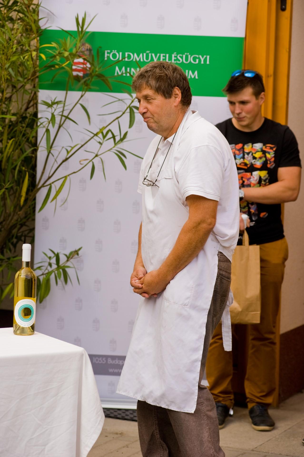 Különdíjban részesült Kiss Ferenc a sajtmesterek képzésében végzett munkájáért