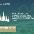 Közeledik - LIVE! - 2021 FIDE Chess.com Grand Swiss and Women's Grand Swiss 2021-10-27 - 11-07 - A rajtlista 5. Rapport Richárddal és a hölgyeknél 42. Hoang Thanh Tranggal