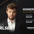 Clutch Chess International  2020-06-06 - 15 - Carlsen - Caruanaval vívja a döntőt - Hatalmas csatában az utolsó fordulóban dőlt el a bajnoki cím a világbajnok Carlsen javára