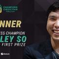 Wesley So nyerte a Skilling Opent - Champions Chess Tour Skilling Open - Knockout 2020 - 2020-11-25 - 12-01 - Skilling Open 2020-11-22 -30 - Lékó Péterrel a kommentátorállásban