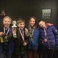Amersfoorti III. Nitrauw Péter és csapata - Johan van Oldenbarnevelt college - a középiskolások sakkcsapat versenyén