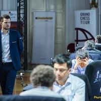 Végeredménnyel -  2019 Croatia Grand Chess Tour - Zágráb -  June 26 – July 8, 2019 -  A verseny győztese: Magnus Carlsen 11/8,  2., So 11/7, 3-4.,  Aronyan és Caruana 11/6