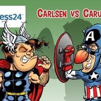 A sakkvilág királya és hercegei - Carlsen 2834.7, Caruana 2832.3, Mamegyarov 2816.9, Ding Liren 2815.5