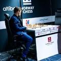 Végeredménnyel - Altibox Norway Chess 2019 -  2019-06-04 - 18 - Az Altibox szuper-verseny győztese: Magnus Carlsen,  -  Carlsen 13,5 (1 függő rapid)  2.-3., Yu és Aronyan 10,5