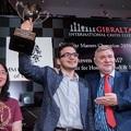 Végeredménnyel - Gibraltar International Chess Festival 2020 - Masters - 2020-01-21 - 30 -  A 65. helyről startoló Kozák Ádámmal