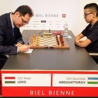 Lékó Péter első a rapidban, III. az összetettben  - 52nd Biel International Chess Festival GM csoport - 2019. 07 - 21-31. - Concert Hall, Biel Congress Center -  A Gm csoport győztese: Santosh Vidit