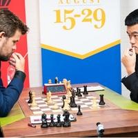 Végeredménnyel - Grand Chess Tour Sinquefield Cup 2019 - 2019-08-17 - 30 - A verseny győztese: Ding Liren
