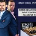 Sakk-világbajnoki párosmérkőzés Dubai-ban 2021-11-24 - 12-16 - Az orosz Nepomniachtchi Ian a norvég sakkvilágbajnok: Magnus Carlsen kihívója