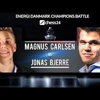 GM Magnus Carlsen - IM Jonas Buhl Bjerre - Videó