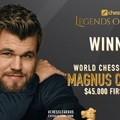 Sakklegendák versenye: 2020-07-21 - 08-05. - Magnus Carlsen nyerte a sakklegendák versenyét