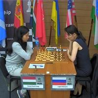 LIVE! - 11:00 - Women's Knockout World Championship 2018 | Khanty-Mansiysk, Russia -  II. kör 2. játszmái - Lagno Kateryna (RUS) 1 - 1 Hoang, Thanh Trang (0.5) (HUN) - Lagno Kateryna (0.5) (RUS
